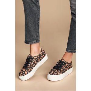 NIB Steve Madden Leopard Emmi Platform Sneakers